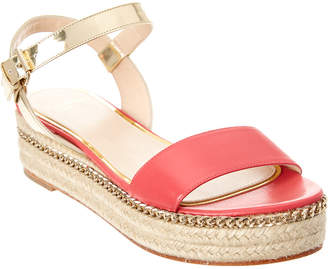 Lanvin Leather Espadrille Sandal