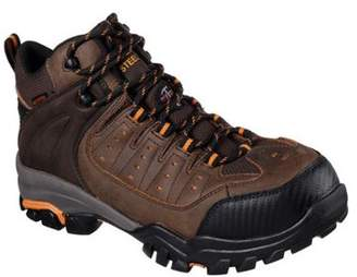 9ab2c8eed5b9 Skechers Men s Delleker Lakehead Steel Toe Boot