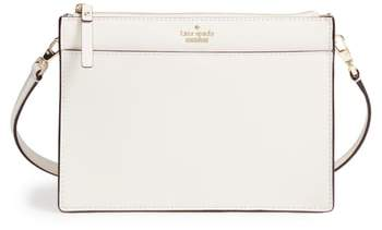 Kate Spade Cameron Street Clarise Leather Shoulder Bag - BEIGE - STYLE