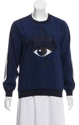 Kenzo Embroidered Long Sleeve Top w/ Tags
