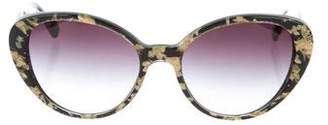 Dolce & Gabbana Round Tinted Lenses