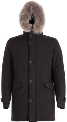 Herno Fur Hooded Coat