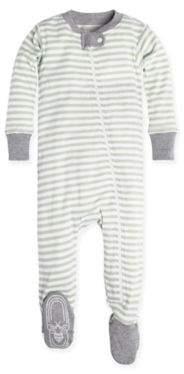Burt's Bees Baby® Mini Stripe Pajama in Green