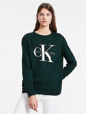 Calvin KleinCalvin Klein Womens Vintage Logo Sweatshirt