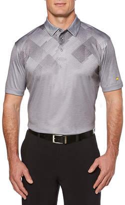 JACK NICKLAUS Jack Nicklaus Easy Care Short Sleeve Argyle Polo Shirt