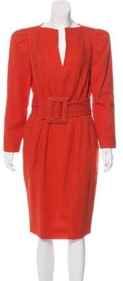 Albert Nipon Vintage Wool Dress