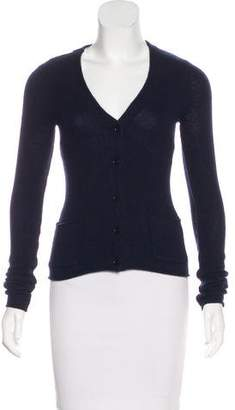 Inhabit Cutout Cashmere Cardigan