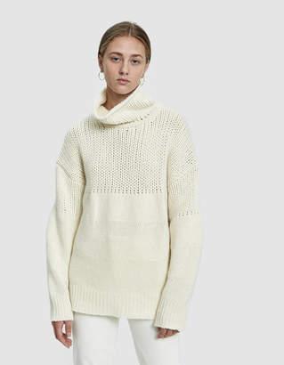 Jil Sander Oversized Rib Sweater