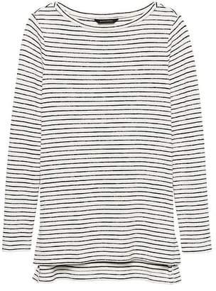 Banana Republic Luxespun Step-Hem Tunic T-Shirt