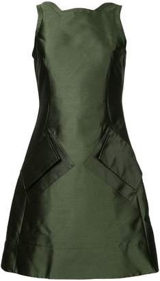 Antonio Berardi fitted symmetric dress