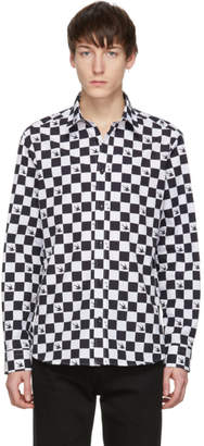 McQ Black and White Shields 25 Shirt