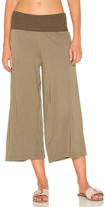 Michael Stars Cropped Culottes in Olive $108 thestylecure.com
