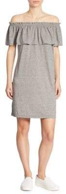 Current/Elliott Off-The-Shoulder Ruffled Dress