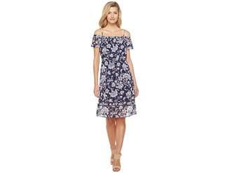 Lucky Brand Cold Shoulder Dress Women's Dress