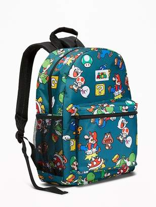Old Navy Super Mario Backpack for Kids