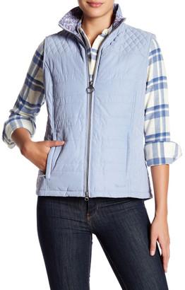 Barbour Quilted Front Zip Vest $169 thestylecure.com