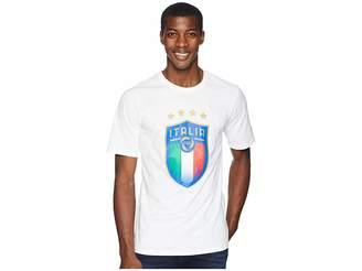 Puma FIGC Italia Badge Tee Men's T Shirt