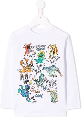 Stella McCartney dragons T-shirt