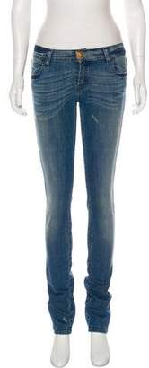 Plein Sud Jeans Mid-Rise Skinny Jeans. w/ Tags