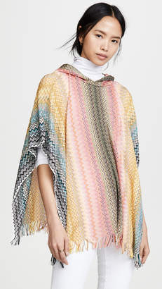 Missoni Hooded Poncho