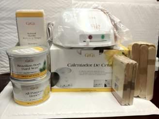 GiGi Wax Warmer, Brazilian Body Hard Wax, All Purpose Honee Wax and Sticks by
