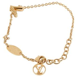 Louis Vuitton Essential V yellow gold bracelet