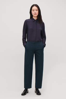 Cos STRAIGHT-LEG JERSEY TROUSERS