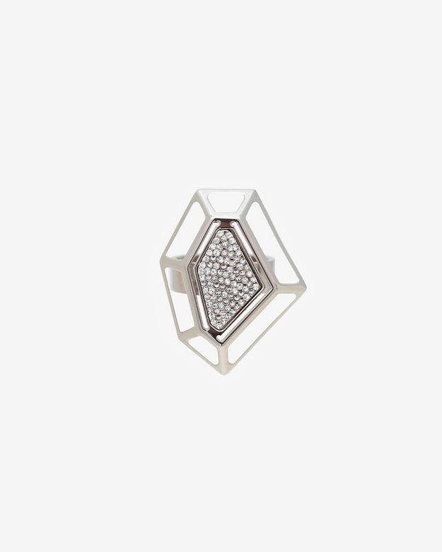 Vita Fede Hex Crystal Pave Ring
