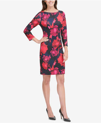 Tommy Hilfiger Printed Sheath Dress