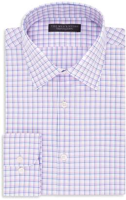Bloomingdale's The Men's Store at Checked Regular Fit Dress Shirt