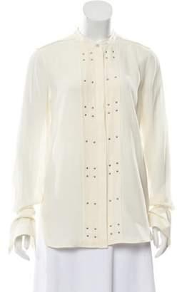 Belstaff Silk Embellished Top Silk Embellished Top