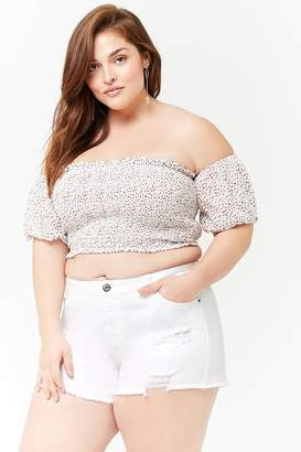 59c7a97411c41 Forever 21 Red Plus Size Tops - ShopStyle Canada