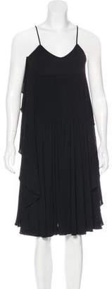 Chanel Ruffled Sleeveless Dress