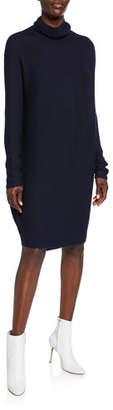 Christian Wijnants Koha Knitted Turtleneck Sweater Dress