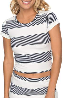 Roxy Parker Stripe Crop Top