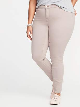 Old Navy High-Rise Secret-Slim Pockets + Waistband Built-In Warm Rockstar Plus-Size Jeans