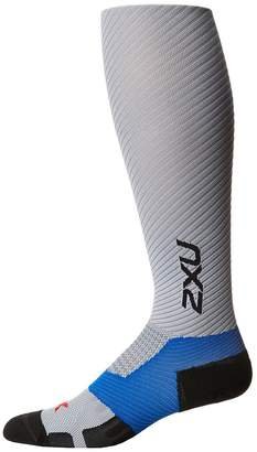 2XU Elite Lite X-Lock Compression Socks Men's Knee High Socks Shoes