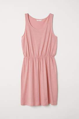 H&M Sleeveless Jersey Dress - Pink