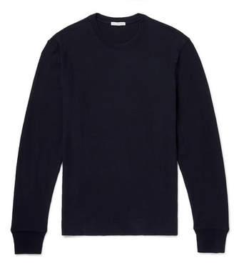 James Perse Loopback Cotton-Jersey Sweatshirt - Men - Navy