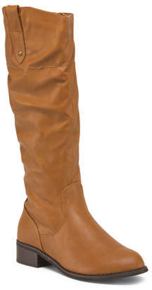 High Shaft Riding Boots