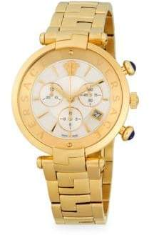 Versace Medusa Stainless Steel Chronograph Watch