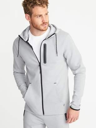 Old Navy Dynamic Fleece 4-Way-Stretch Zip Hoodie for Men