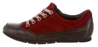 Paul Green Suede Low-Top Sneakers