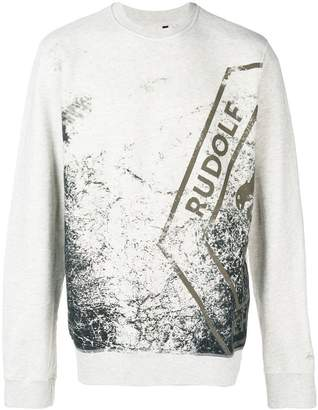Puma graphic print sweater