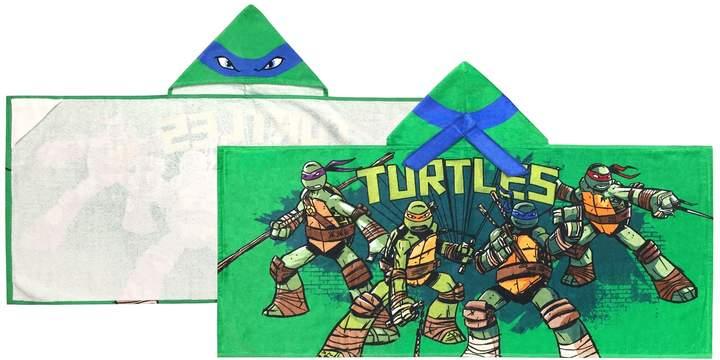 Teenage Mutant Ninja Turtles Mean Green Leo Hooded Towel