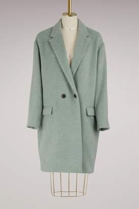 Isabel Marant Filipo virgin wool coat