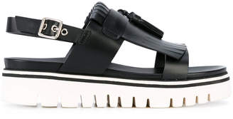 Baldinini sling-back platform sandals