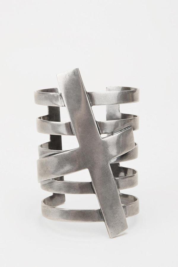 Marmen Cross Cuff Bracelet