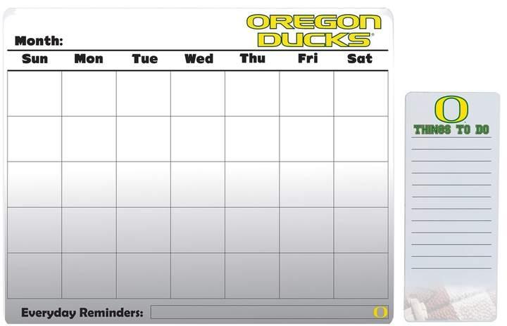 Kohl's Oregon Ducks Dry Erase Calendar & To-Do List Pad Set