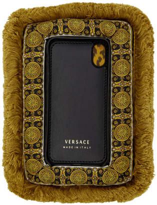 Versace Multicolor Curtain iPhone X Case